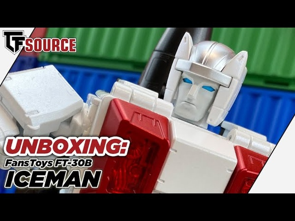 UNBOXING Transformers FansToys FT-30B Iceman