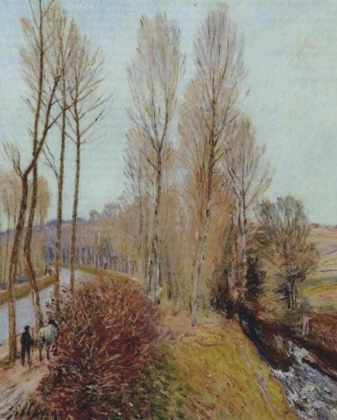 Бархат осени в картинах Сислея. Осень в картинах Альфреда Сислея настолько разнообразна, что отдельной статьи достойны его пейзажи, в которых она словно бархат. И даже видимая яркость мягко