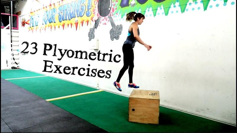 Plyometric exercises 23 Plyo Variations