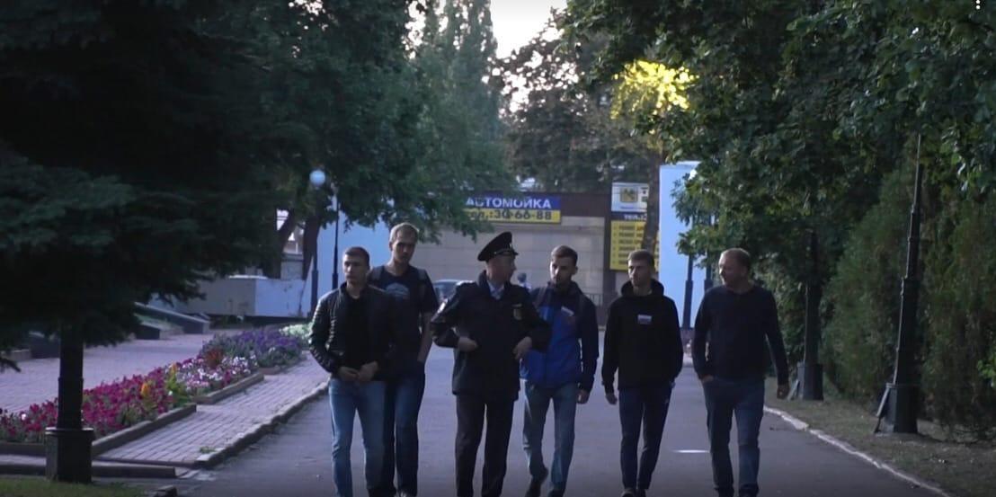 В Курске дружинники начали патрулировать мемориал