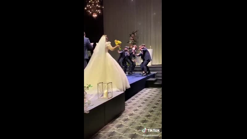 Dynamite is a favorite at weddings