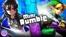 Kirito VS Link (Sword Art Online X Legend of Zelda) | XVX | Mini Rumble