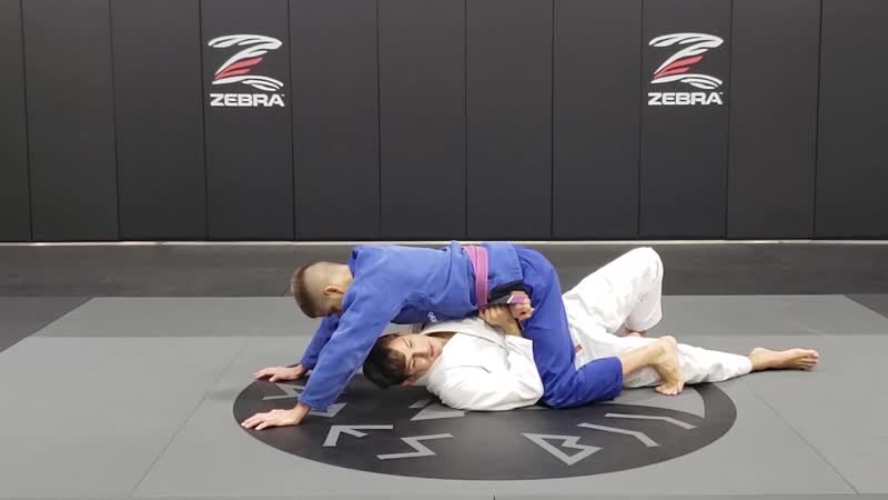 Osvaldo Quiexinho Moizinho Mount and Half Guard Positioning