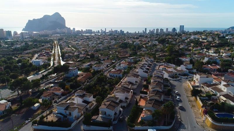 Таунхаус в городе Кальпе район La Vallesa продажа недвижимости в Испании у моря