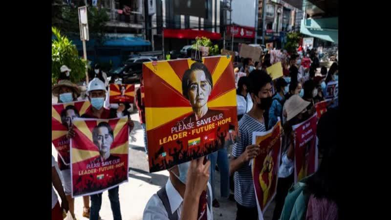 Военный переворот в Мьянме США ввели санкции против двух генералов