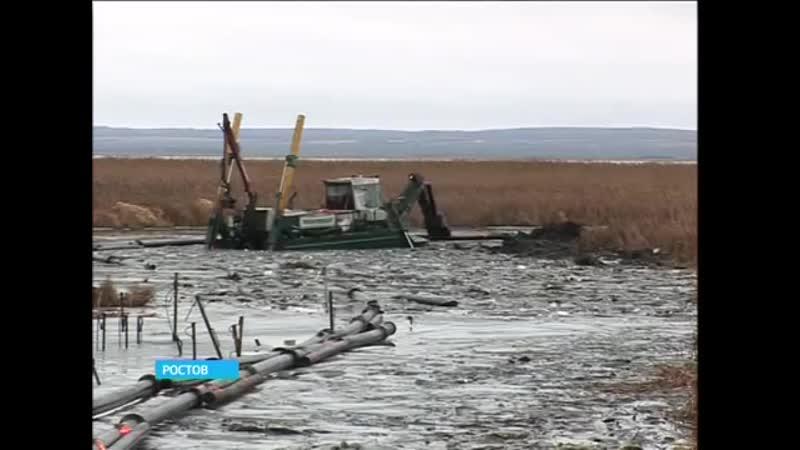 В Ростове началась масштабная очистка озера Неро 21 декабря 2015г