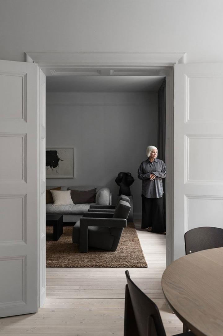 Элегантные современные апартаменты арт-директора в Стокгольме