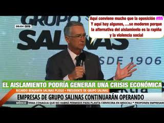 GRUPO SALINAS SEGUIR TRABAJANDO PARA LOS MEXICANOS