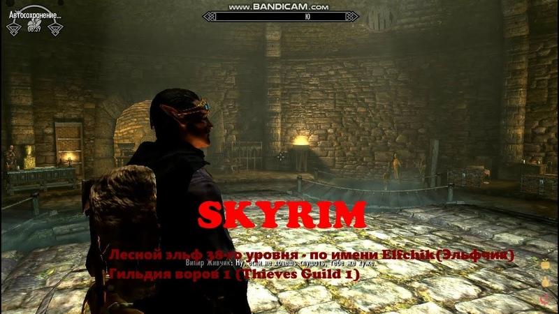 32 SKYRIM SLMP GR Эльфчик Elfchik Гильдия воров 1 Вступление Thieves Guild 1