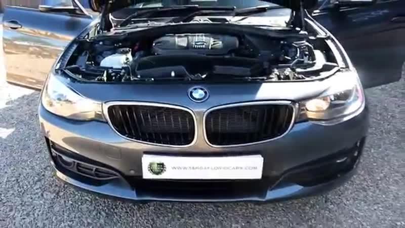 BMW 320d SE Gran Turismo 6 Speed Manual in Mineral Grey with a Full Black Dakota