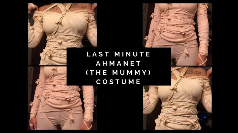 Last Minute DIY Ahmanet Halloween Costume