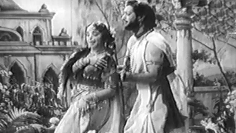 Babruvahana Video Songs Ninne ninne Cheli Ntr Varalakshmi B Saroja Devi