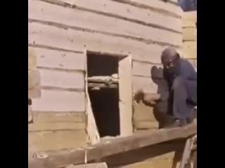 Как раньше строили дома