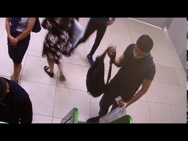В Оренбурге молодой человек похитил деньги из банкомата