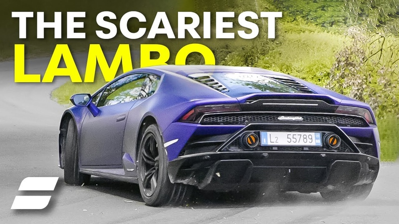 Lamborghini Huracan EVO RWD Review The SCARIEST Lambo 4K