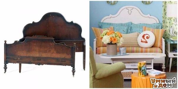 7 крутых идей по переделке старой мебели