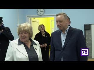 Александр Беглов посетил детский сад №5