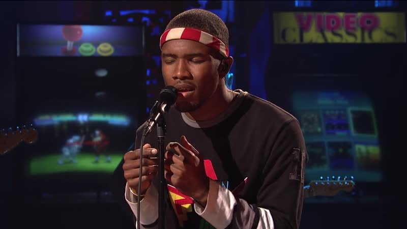 Frank Ocean Thinkin Bout You Live on SNL