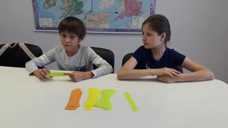 Speaking test. Ярослав и Илона. 3 класс.