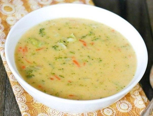 """""""Сырный суп с рисом"""""""