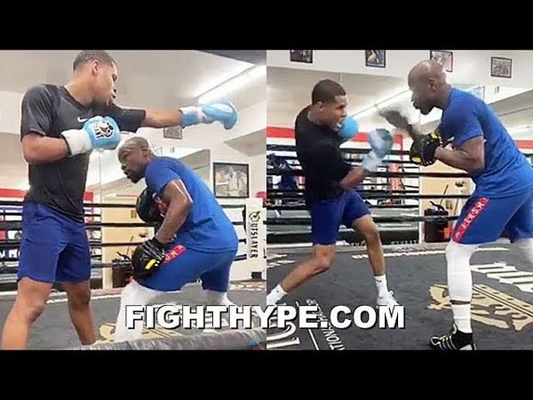 FLOYD MAYWEATHER MORE VETERAN TRICKS BEING TAUGHT BY TBE