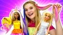 Модные прически для Барби. Игры в парикмахерскую для куклы Барби. Видео для девочек - Школа стилиста