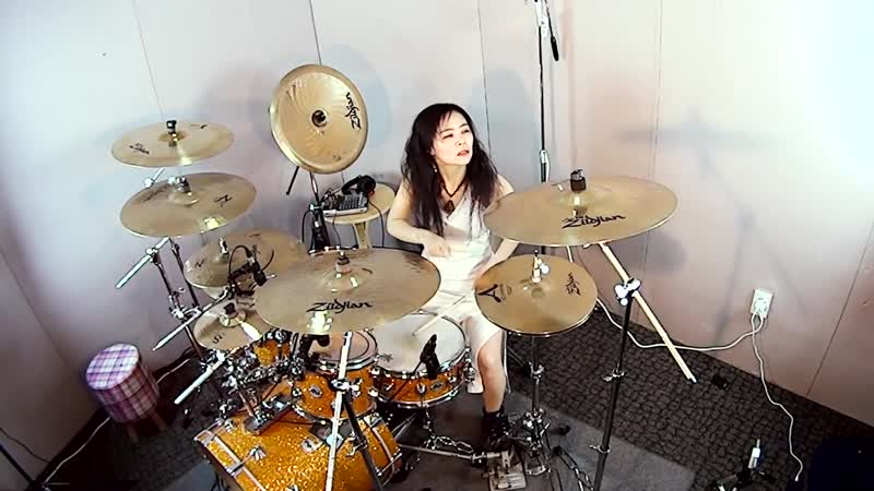 Slayer Angel of Death drum cover by Ami Kim 22