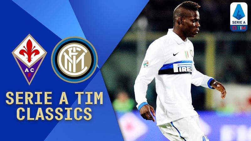 Sneijder, Etoo and Balotelli Star! | Fiorentina v Inter (2010) | Serie A TIM Classics | Serie A TIM