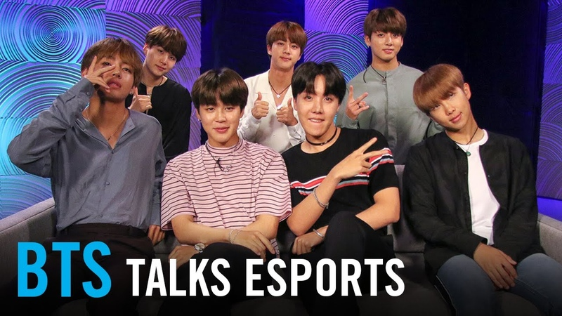 BTS on Overwatch League of Legends StarCraft and their favorite esports teams and players