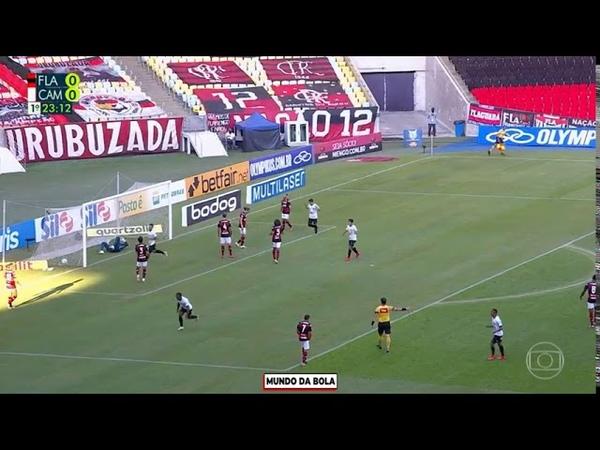 GOL CONTRA DE FILIPE LUIS Flamengo 0 x 1 Atlético MG Brasileirão 2020