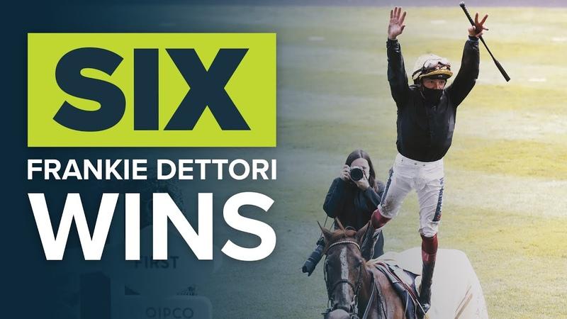 BEST JOCKEY IN THE WORLD SIX FRANKIE DETTORI ROYAL ASCOT WINS