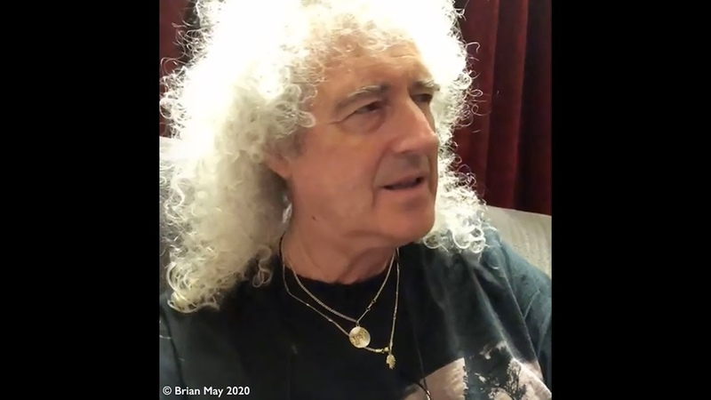 Brian May` Recovering slowly 3 June 2020