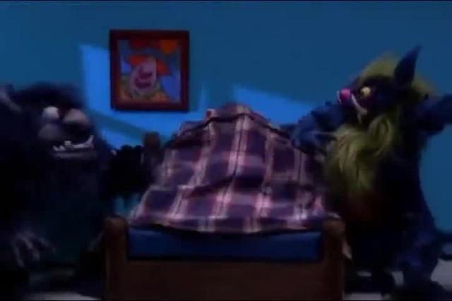 Робоцып одеяло спасает от монстров · coub коуб