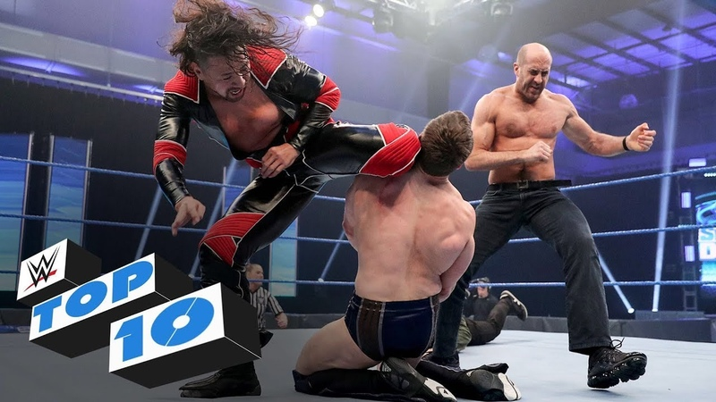Top 10 Friday Night SmackDown moments WWE Top 10 April 3 2020
