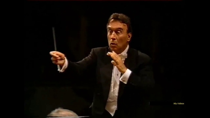 Schubert Symphony No 8 B minor Unfinished Claudio Abbado Ferrara 1989