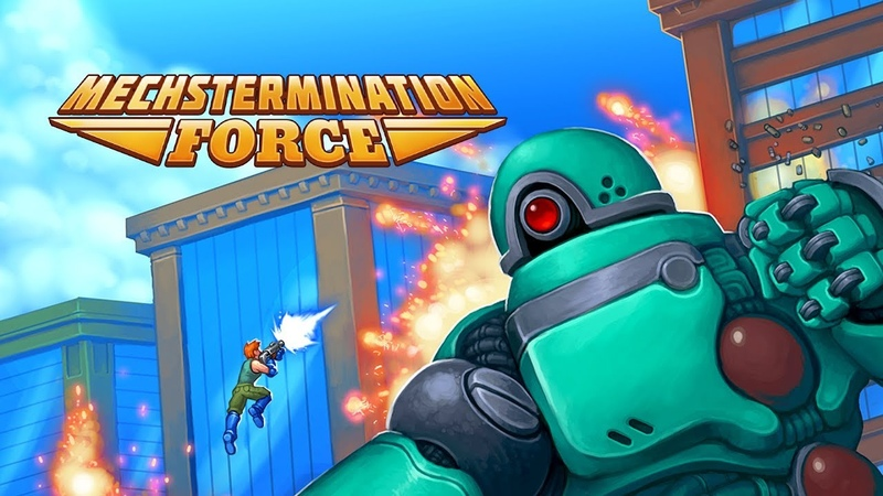 Mechstermination Force is Coming to PS4 and Steam!