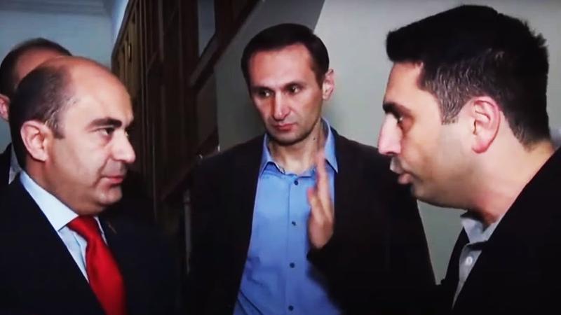 Կրկին թեժ վեճ Էդմոն Մարուքյանի և Ալեն Սիմոնյանի միջև
