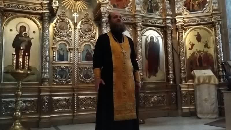 27.06.2020 проповедь Дионисия Толстова