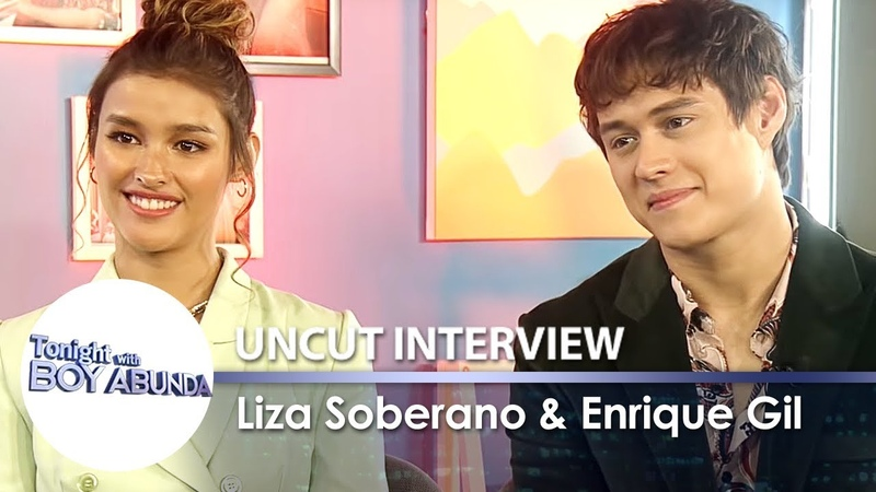 Liza Soberano Enrique Gil   TWBA Uncut Interview