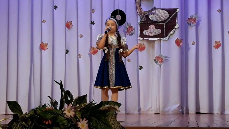 Ясно солнышко - исполняет Рита Сафина 9 лет