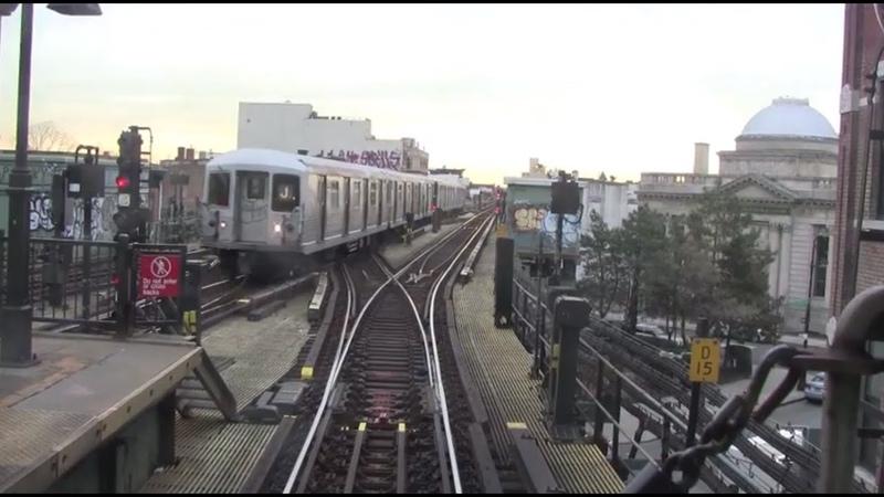 ᴴᴰ R42 J/Z Train RFW Footage - Broad Street-Jamaica Center [Local] (2013)