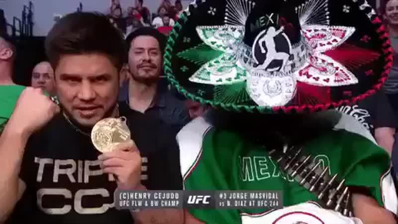 UFC Mexico 💥