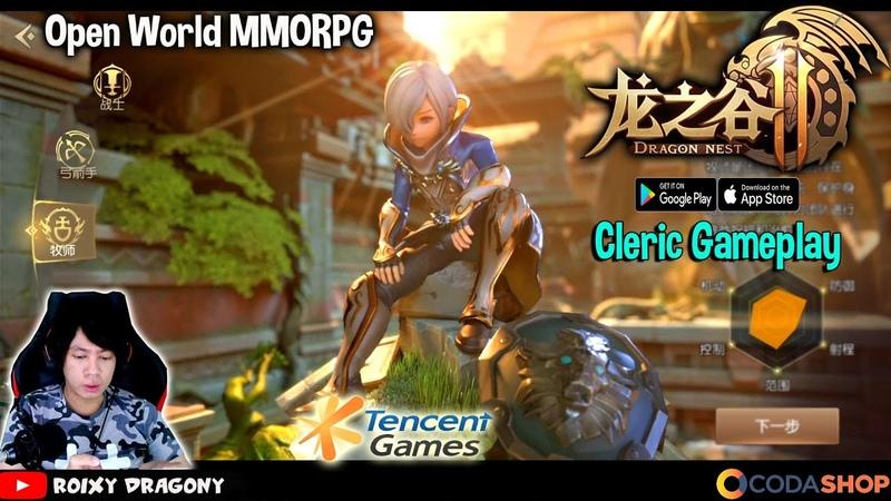 CD Divine Avatar 9 detik Enak Bener Ngontrol Paladinnya Dragon Nest 2 CBT Android MMORPG