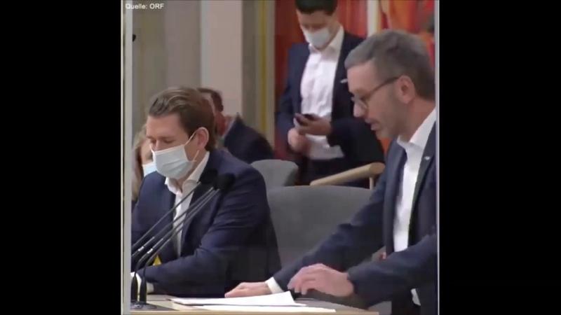 Депутат австрийского парламента разоблачил тоталитарную стратегию правительства по коронавирусу