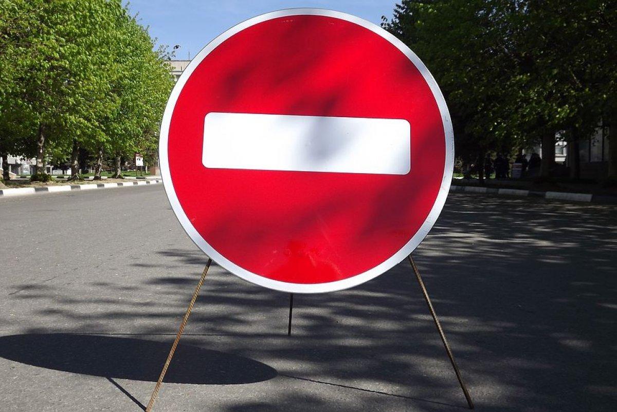 По двум центральным улицам Курска до октября перекрыли движение
