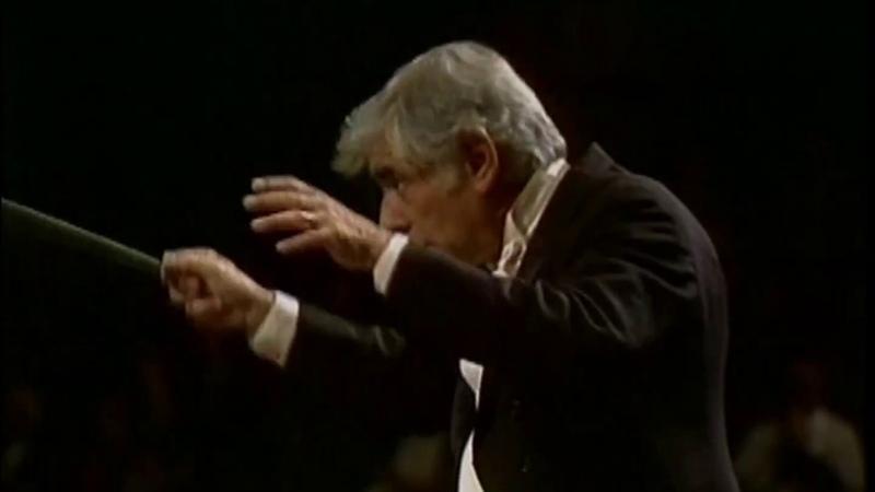 Bernstein West Side Story Symphonic Dances Bernstein New York Philharmonic 1976 Movie Live