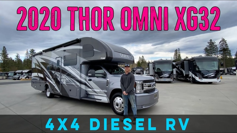 2020 Thor Omni XG32 4X4 Exclusive Color Only at DeMartini RV Sales