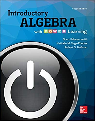 Introductory Algebra with P.O.W.E.R. Learning  2nd Edition