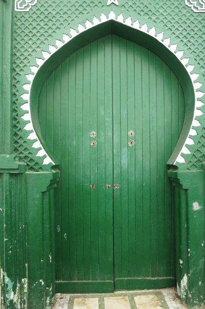 Зеленые Двери в Марокко