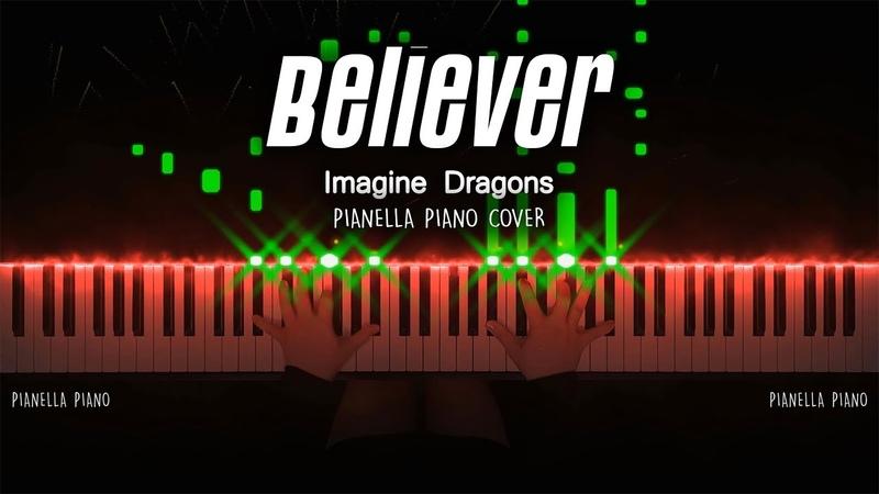 Imagine Dragons Believer Piano Cover by Pianella Piano